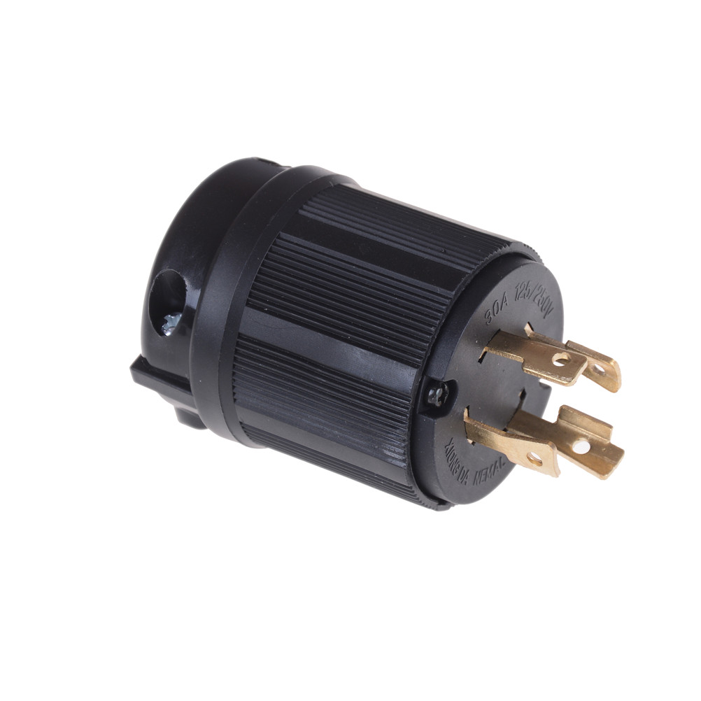 1pcs Nema L14 30p Twist Lock Plug 30a 125 250v 3p 4w Us Heavy Routing 6 30r Cable From Air Compressor 1 X Power Locking