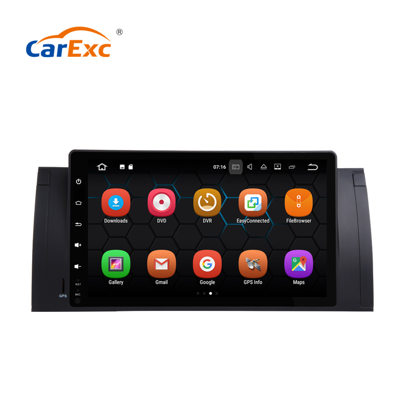 9 Inch Android 9.0 Car Radio For BMW Old 5 Series BMW E39 X5 M5 E53 520i 525i 528i 530i With GPS Bluetooth Wifi OBD Navigation