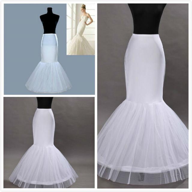 Vestido de noiva enagua para vestidos sirena de boda enaguas enaguas en caliente del envío libre