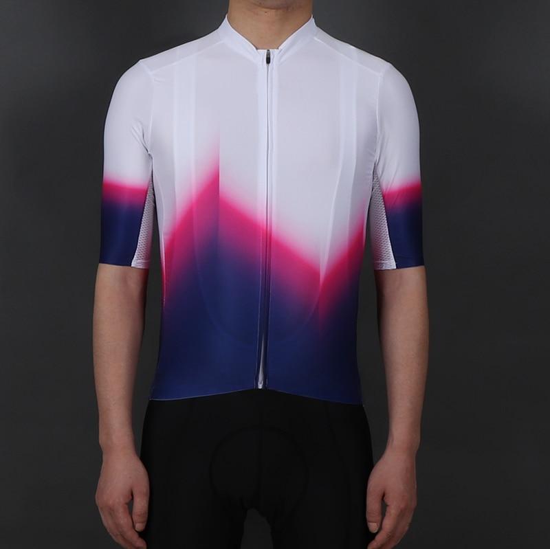 SPEXCEL 2019 nouvelle coupe arc en ciel Pro équipe aero léger à manches courtes cyclisme jersey sans couture processus route cyclisme équipement vélo chemise|Maillots de cyclisme| |  -