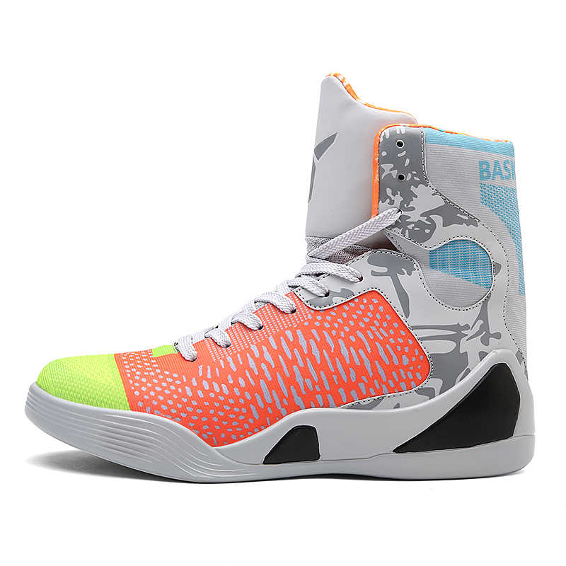 buy popular a3ceb 2015f ... Zenvbnv New Basketball Shoes Air Cushion Kobe Hombre Athletic Mens Shoes  Men High-top Sports ...