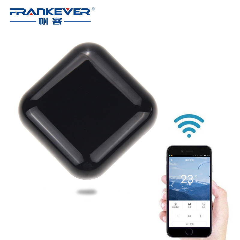 FrankEver WIFI Universal Smart Infrared Remote Control Smart Home Automation for Air Conditioner TV Set top box in stock 100% xiaomi mi universal smart remote controller home appliances wifi ir switch 360 degree smart for air conditioner tv