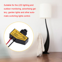 Mini Light Switching Sensor Remote Photocell Switch Dusk To Till Dawn Hot Sale