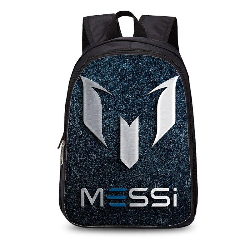New arrival Barcelona Argentina Messi 3d Print Soccer Backpacks Man Women  Christmas Gift For Teenagers Football 8f76edd6da77f