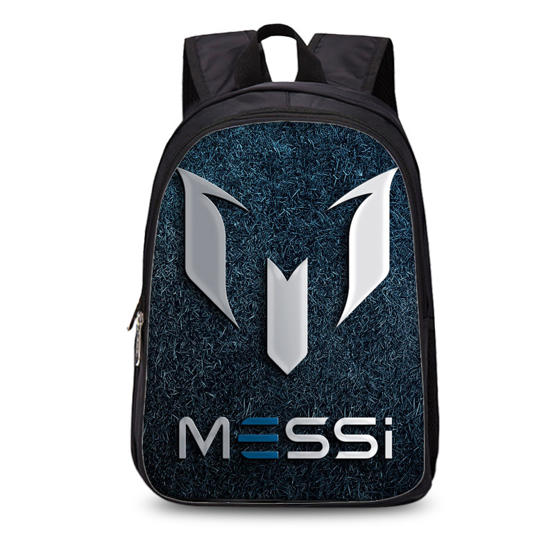 New Arrival Barcelona Argentina Messi 3d Print Soccer Backpacks Man Women Christmas Gift For Teenagers Football Mochila Escolar