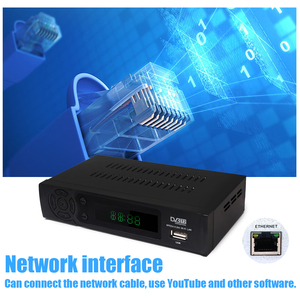 Image 5 - 2020 hd 1080p DVB T2 receptor de sinal digital conjunto caixa superior dvb t2 receptor terrestre h.264 dvb sintonizador de tv com suporte rj45 wi fi