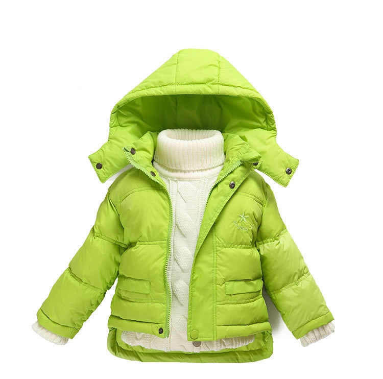 Fashion 80% Eiderdown Baby Girl Winter Coat Newborn Snowsuit For Baby Boys Duck Down Outerwear Clothes For Children Jackets (4)