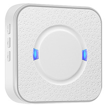 Ding Dong Ac 90v-250v 52 Chimes 110db Wireless Doorbell Receiver Wifi Camera Low Power Consumption Indoor Bell US Plu