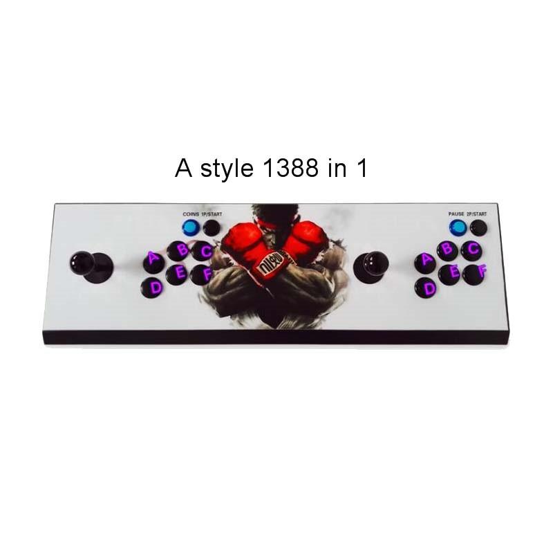 Pandora 5S 1299 in 1 zero delay wireless 2 player arcade stick with arcade button and joystick VGA HDMI output 1