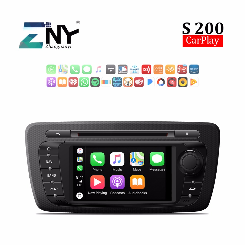 Android 8.0 Auto Radio Car DVD For SEAT IBIZA 2012 2013 2014 7 HD Stereo Bluetooth RDS FM Audio Video GPS Navigation Carplay rom 16g 2 din android car dvd for mazda cx 5 2012 2013 2014 navigation radio audio gps ipod bluetooth russian menu