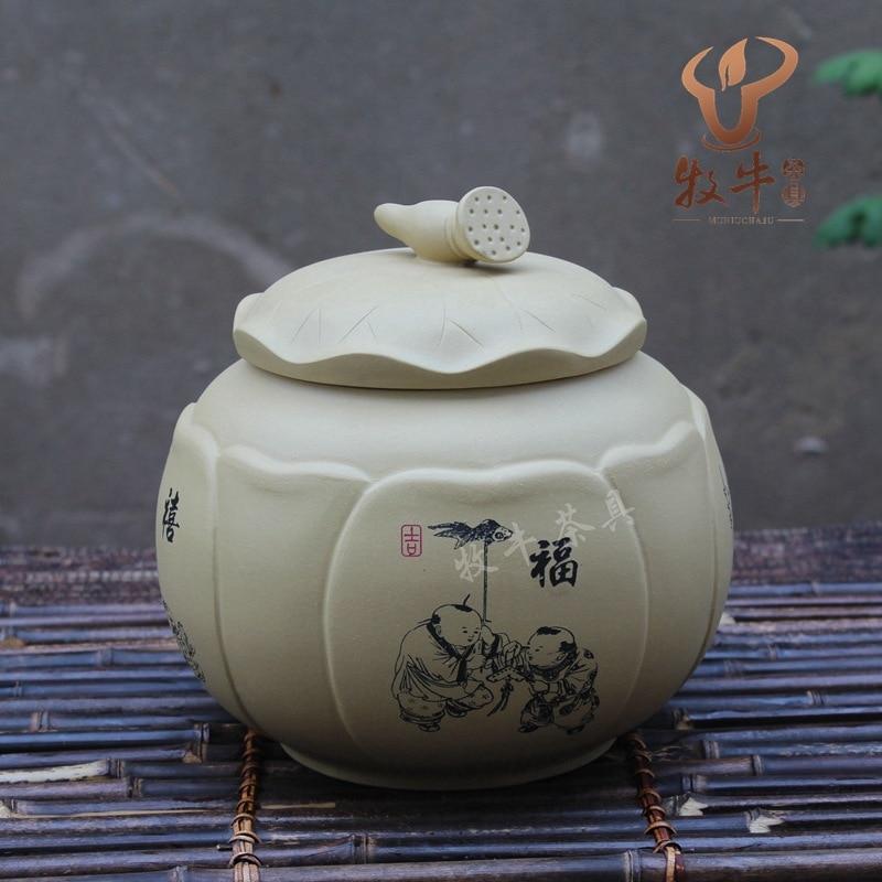 The Purple Tea Factory Direct Segment Mud Tank Lotus Tea Pot Shop Tea Set Collocation Mixed Batch
