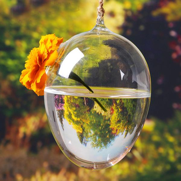 24 стиля стеклянная подвесная Ваза Бутылка Террариум гидропонный горшок Декор цветочные растения контейнер орнамент микро пейзаж DIY домашний декор - Цвет: 7x10cm