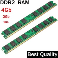 RAM DDR2 4Gb 2 Gb 1Gb DDR2 800 667 533 Mhz Suit For All Intel And