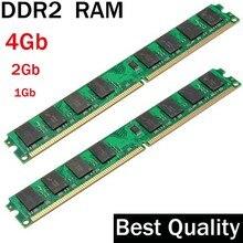 DDR2 4Gb 2Gb 1Gb DDR2 RAM 800 667 533 Mhz / suit for all Intel and AMD desktop / memoria 2 gb ddr2 ram single / ddr 2 memory
