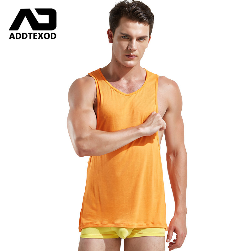 Mens   Tank     Tops   Sleeveless tees Vest male undershirt sportshirts singlet workout clothing masculina man without sleeves moletom
