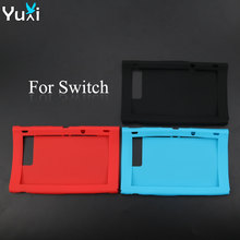 YuXi Soft Silicone Host Display Screen Protective Cover Case For Nintend Switch NS Console Protector Shell Skin