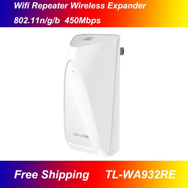 Free shipping TP-LINK TL-WA932RE 450M 802.11n/g/b wifi Repeater wireless Expander WI-FI signal amplifier wi fi роутер tp link td w8961n