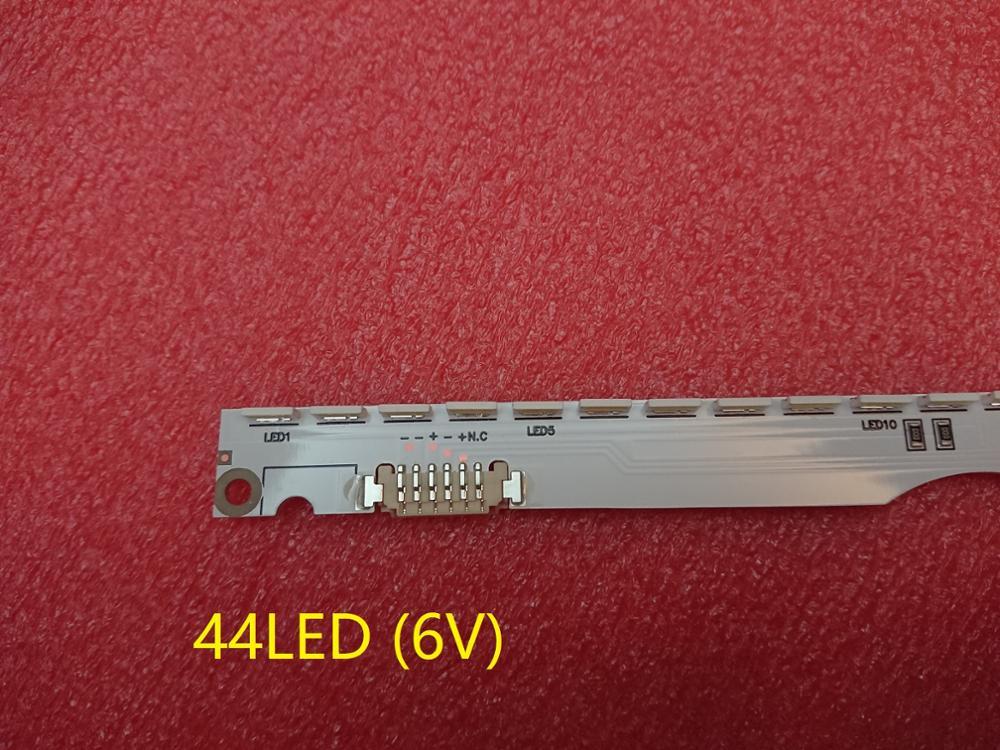 New 44LED*6V 406mm LED Strip For Samsung UA32ES5500 UE32ES6100 SLED 2012svs32 7032nnb 2D V1GE-320SM0-R1 32NNB-7032LED-MCPCB
