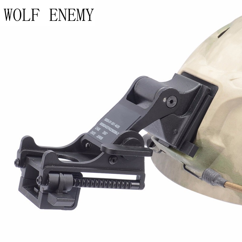 WOLF ENEMY MICH M88 FAST Helmet MOUNT KIT Airsoft Tactical Army Night Vision Goggle For Helmet Accessories Rhino NVG PVS-7 PVS14 night vision mount nvg accessory
