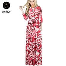 Christmas Festival Kleider Damen Pleated Maxi Long Sleeve Dress Robe Soiree  Longue Femme 2018 Party Elegant dac6d6a5df5e