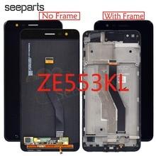 OLED Voor ASUS ZenFone 3 Zoom ZE553KL ZE553 Z01HDA Lcd scherm + Touch Panel Digitizer Met Frame Voor ASUS ZE553KL LCD