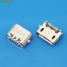 1x micro USB 5pin jack Reverse Ox horn Charging Port Plug socket connector mini usb For Huawei 4X Y6 4A P8 C8817 max Lite Pro