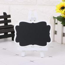 METABLE 20 Pcs Mini Chalkboard,Blackboard with Stand for Party Wedding Table Number Message Board Signs.