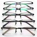 Padrão Restaurar Antigas Formas Óculos de Armação Homens E Mulheres Luz de Fundo Vai Enquadrar Óculos Meia Armação de Metal Armação de óculos de Miopia