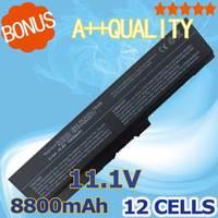 12 celdas de la batería PA3634U-1BAS PA3634U-1BRS PA3635U-1BAM PA3635U-1BRM PA3636U-1BRL PA3638U-1BAP PA3728U-1BRS para Toshiba