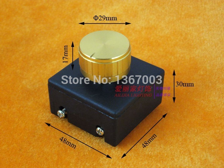 1PC 3A 110V / 220V Dimmer Switch  Light Modulator Lamp Line Dimmer Controller For Table Lamp