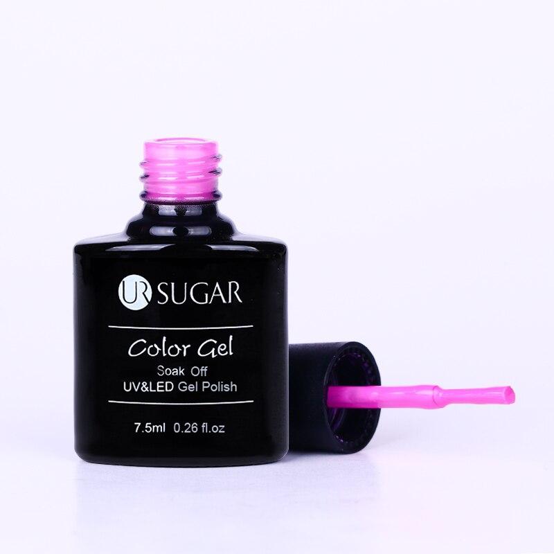 UR SUGAR 7.5ml Soak Off UV Gel Polish Red Series Semi Permanent Nail Art Gel Polish LED Long Lasting Gel Polish Gel Lacquer