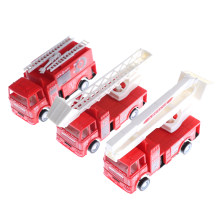 1pc Red Color Mini Diecasts Model Car Fire Engine Boy Toy Car Cars Machines Kids Toys Size:14*4.2*6.8cm(China)