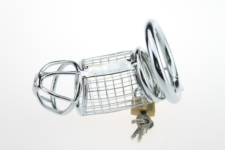 Plastic Male chastity lock Chastity Device with urethral catheter 8mm Chastity Belt Cock Cage Penis Ring Bondage Sex Toys1