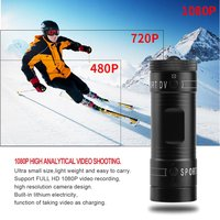 Flashlight HD 1080P Mini Sports DV Wifi Sports Camera 120 Degree Lens Outdoor Action Camcorders Multifunction Car Blackbox