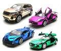 Envío gratuito super coche deportivo/sportycar modelo del coche, tire hacia atrás/luz/sonido car collection, cars toys, regalo de los cabritos muchacho fans recoger juguete