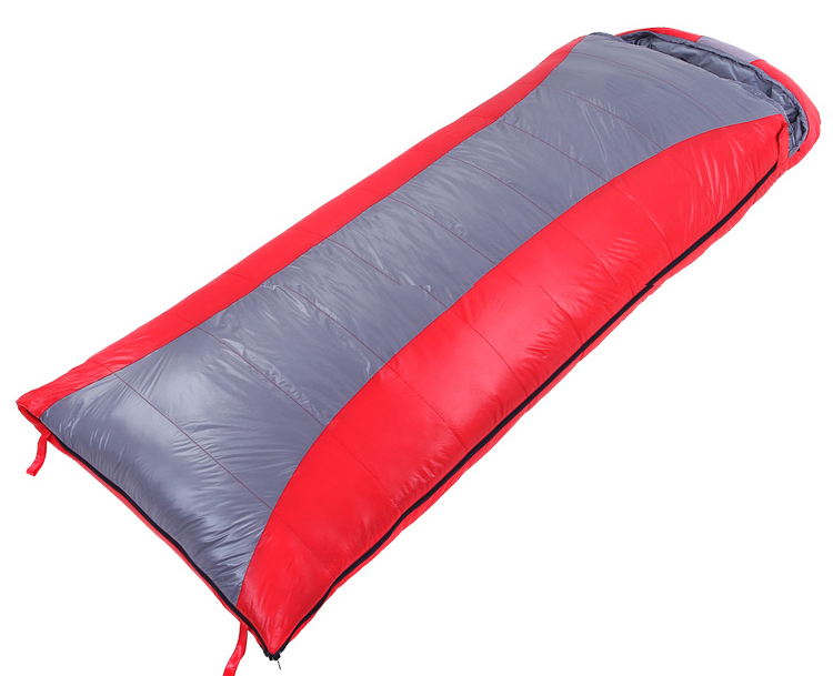 Adult duck down sleeping bag outdoor warm thick winter camping ultralight single uyku tulumu laybag can be spliced 210 *80 cm nh outdoor camping indoor lunch adult sleeping bags of ultra light warm seasons can be spliced herringbone cotton bag