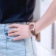 Women's Quartz Bamboo Wristwatches