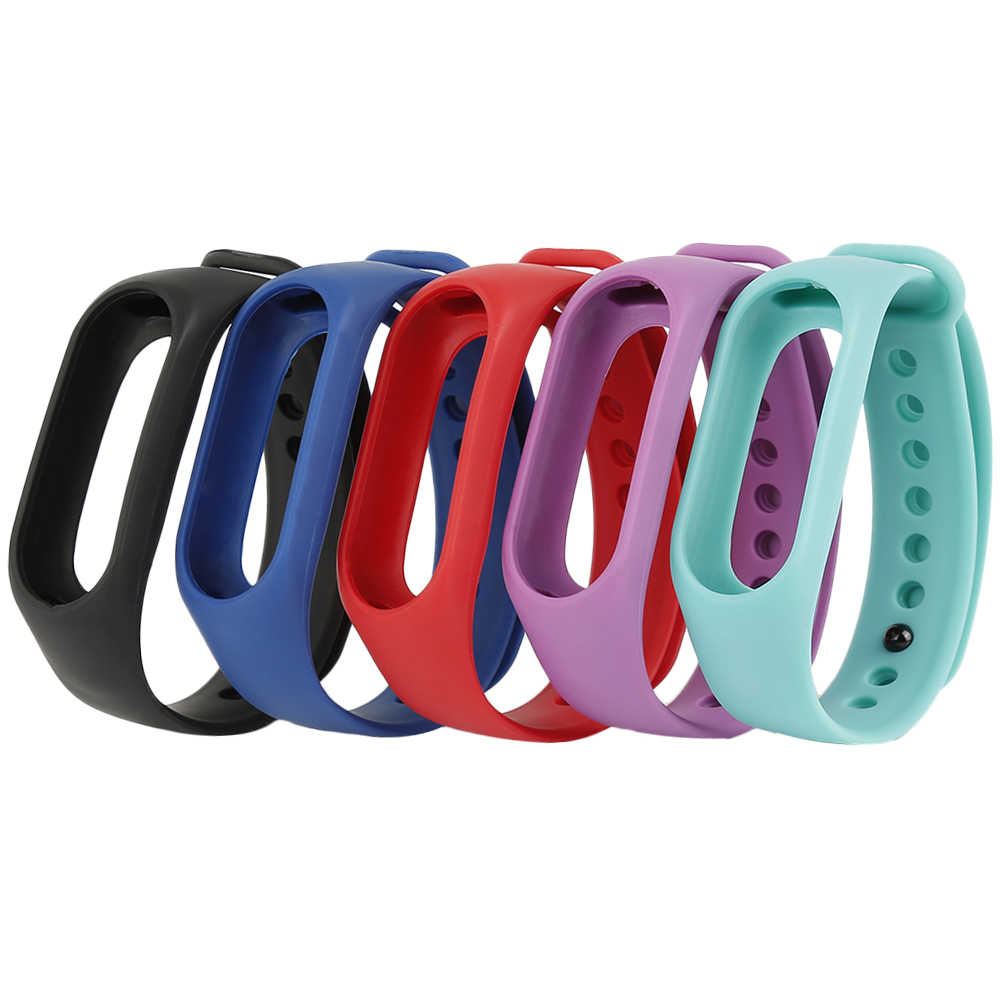 Colorful Silicone Alternative Strap for M3s smart Wristband replacement Wrist band Belt