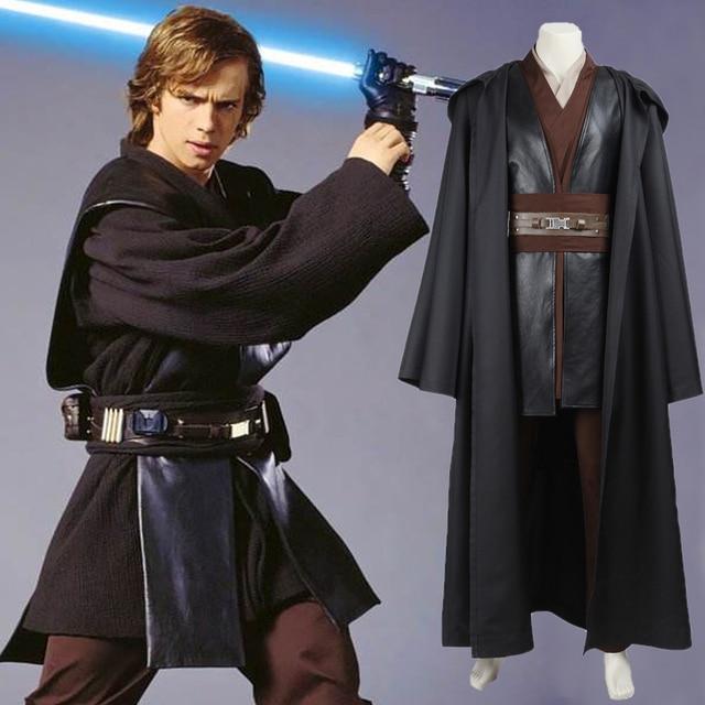 Star wars anakin skywalker costume jedi knight adult suit halloween party costume for men for Comcostume halloween homme original