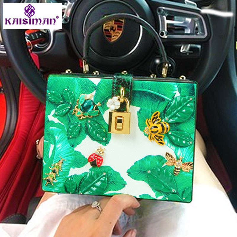 Goddess Fashion Flower Printed Diamond Tote Bags Designer Luxury Handbag Women Bags Genuine Leather Lady Shoulder Messenger Bags карликовое дерево flower goddess 5 250 d032