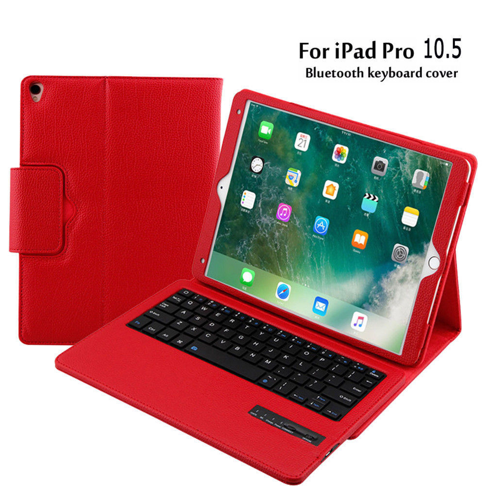 For Apple ipad pro 10.5 Keyboard case, Detachable Bluetooth Keyboard Stand Case Cover for iPad pro 10.5 A1701 A1709 Tablet Funda for ipad pro 12 9 keyboard case magnetic detachable wireless bluetooth keyboard cover folio pu leather case for ipad 12 9 cover