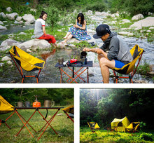 Beach Chair Portable Camping Lightweight Folding Fishing Outdoor Furniture Russia Stock Orange Red Dark Blue Beach Chair Table