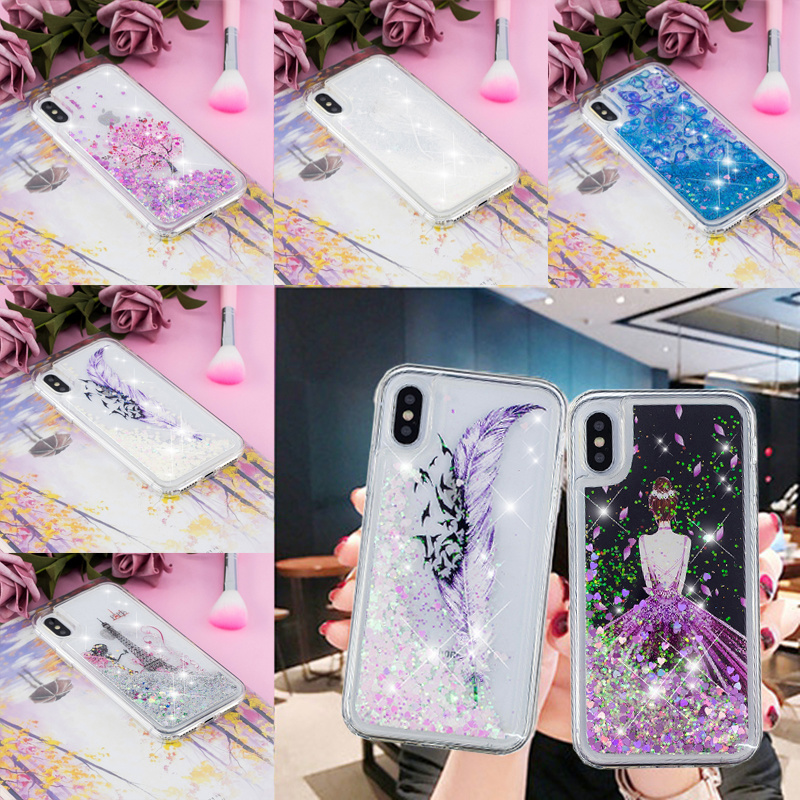 Liquid Case For Huawei Enjoy 7S <font><b>Honor</b></font> 8X 7A 10 <font><b>9</b></font> <font><b>Lite</b></font> Mate 10 20 P8 P20 <font><b>Lite</b></font> Pro 2017 <font><b>Cartoon</b></font> Cherry tree Soft Silicone Cover image