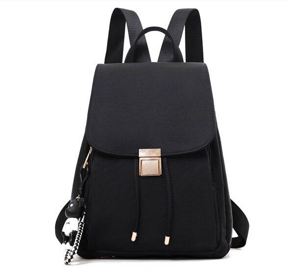 Amasie nouvelle arrivée noir sac d'école à double sac pack pour teenages filles et garçons EGT0361