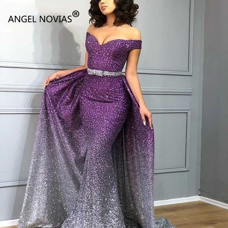 5c6adea645 Detail Feedback Questions about ANGEL NOVIAS Long Mermaid Sequins ...