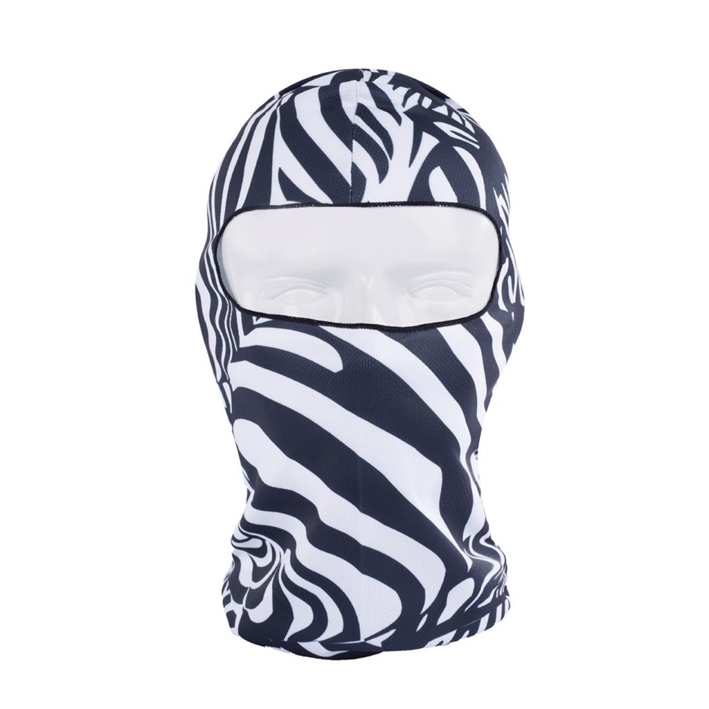 Women Beanie New Hot Sale 3d Zebra Animal Hood Hat Balaclava Full Face Mask Outdoor Sports Bicycle Cycling Ski Motorcycle Masks