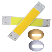 120*20mm LED COB bande module Source lumineuse lampe 500mA 9-11 V DC 5 W puce ampoule LED blanc chaud 2700 K blanc froid 6000 K(China)