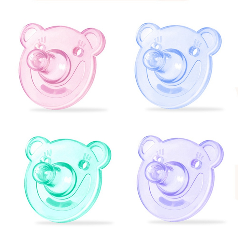 Baby Newborn Infant Baby Soft Silicone Orthodontic Pacifier Nipple Sleep Soothe BPA Free 2019 New(China)