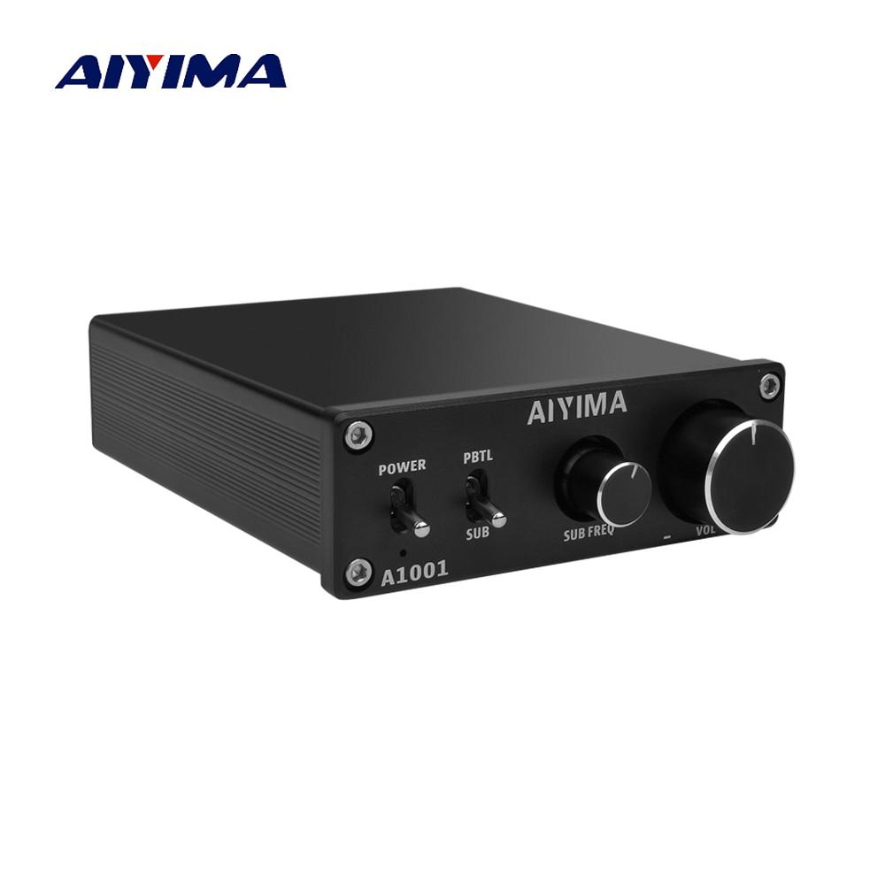 AIYIMA TPA3116D2 Subwoofer Amplificatore di Classe D HiFi Mono Digitale Ad Alta Potenza Audio Amplificador AMP 100 W Home Theater DC12-24V