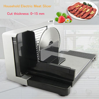 Household Electric Meat Slicer Meat Grinder Mini Slicing Cutter For Mutton Beef FS 989